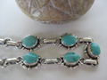 Silver gemstone jewelry .925 sterling silver bracelet from Nepal