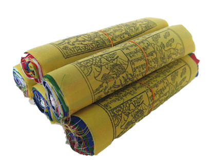 Tibetan Prayer Flags - Tara, Windhorse, Buddha, Guru 
