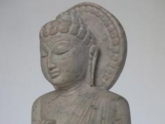 Hand carved handmade stone Buddha statue carvings