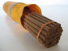 Tibetan incense sticks handmade