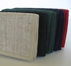 Strong and durable Hemp Wallets from Hither and Yon